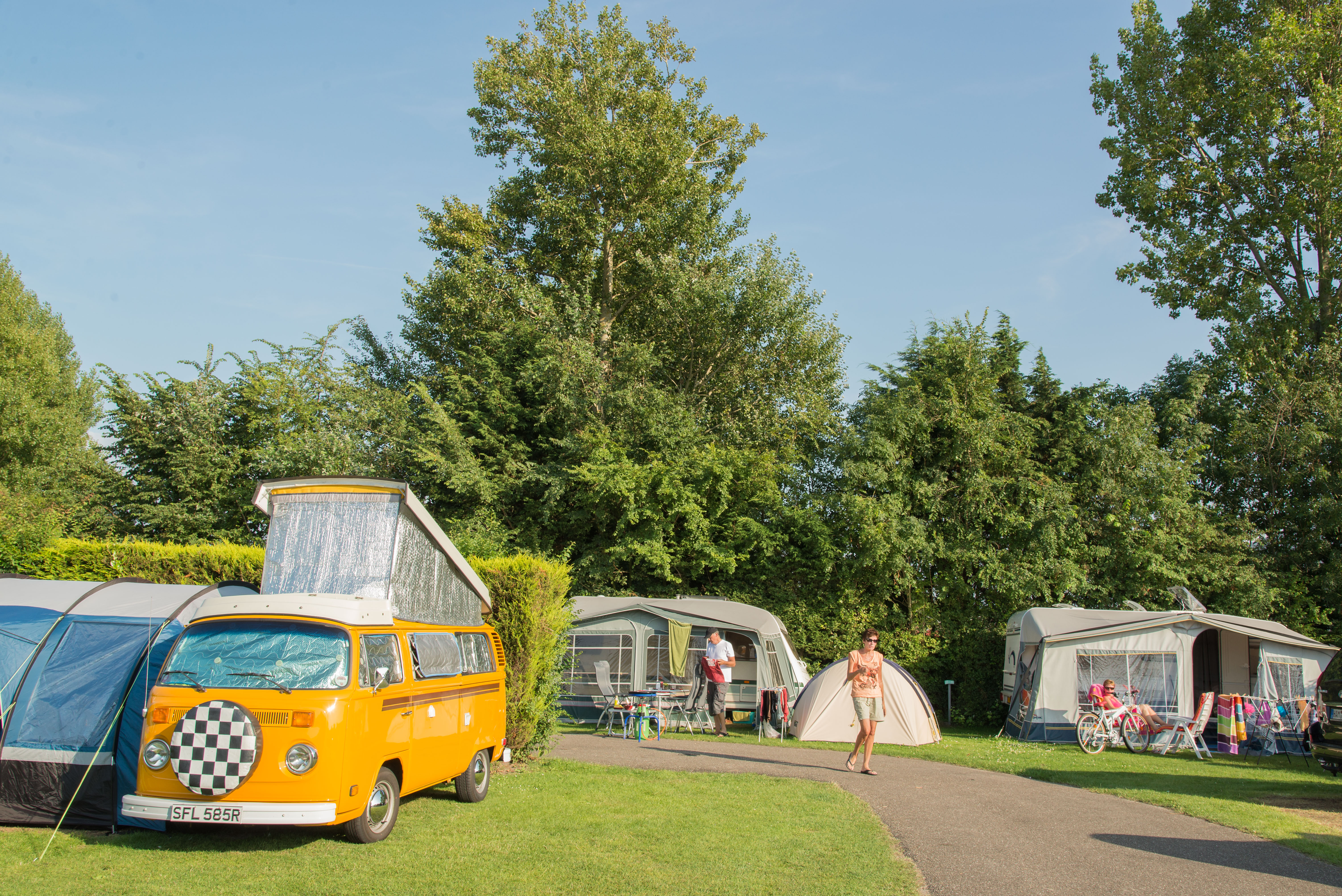 Campsite in the western part of holland vakantiepark - Campsites in holland with swimming pool ...
